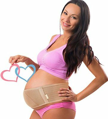 Maternity Belt Pelvic and Back Support-Extender Pregnancy Belly Band -Breathable