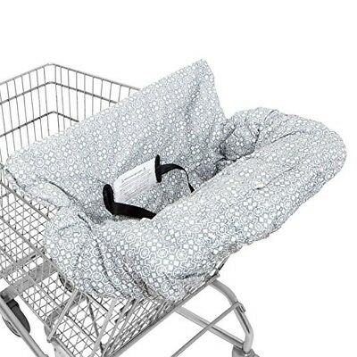 En Babies 2-in-1 Baby Shopping Cart Cover & High Chair cover with safety harness