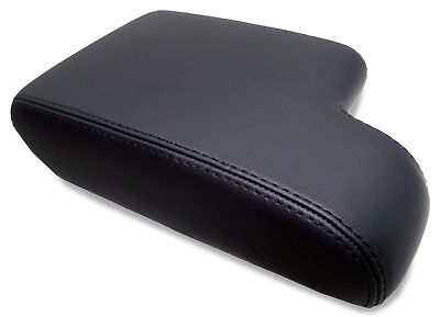 Fits 92-99 BMW E36 Synthetic Leather Armrest Center Console Lid Cover Black