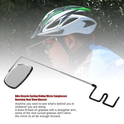 Bike Bicycle Cycling Riding Mirror Sunglasses Rearview Rear View Glasses F7