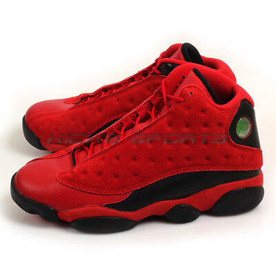 sale retailer 5b17a 4ddd4 Nike Air Jordan 13 XIII Retro SNGL DY Singles Day Gym Red Black 888164-