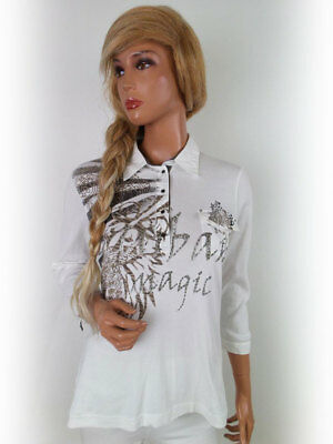 Bnwt Gerry Weber Edition Printed Linen Valencia Blouse R83 UK 10