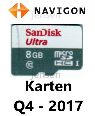 navigon karten update q4 2017 2018 europa 4 8 gb micro sd. Black Bedroom Furniture Sets. Home Design Ideas