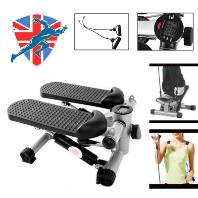 Mini Stepper Legs Arms Thigh Fitness Exercise Gym Aerobic Workout Machine