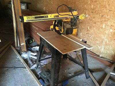 Dewalt Radial Arm Saw DW720 9 (240 VOLT)