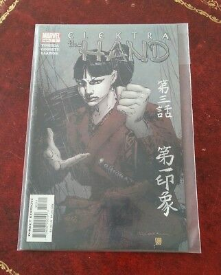 Elektra The Hand Comic - issue 3