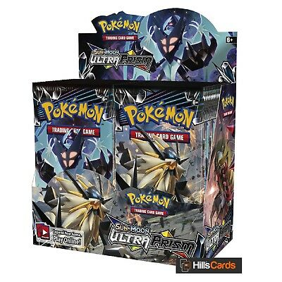 Pokemon Sun & Moon Ultra Prism Sealed Booster Box of 36 Packs - SM-5 - TCG Cards