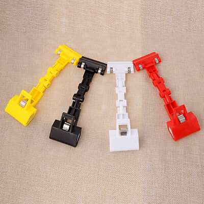 Copy Painting Board Double Head Clips Clamp 360° Rotatable For Artist Easels