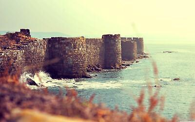 Sindhudurg Fort Castle Maharashtra India Giant Poster - A5 A4 A3 A2 A1 A0 Sizes