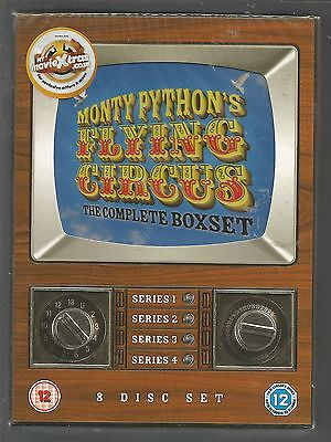 MONTY PYTHON'S FLYING CIRCUS - COMPLETE SERIES 1 2 3 4 - UK R2 DVD SET  unopened