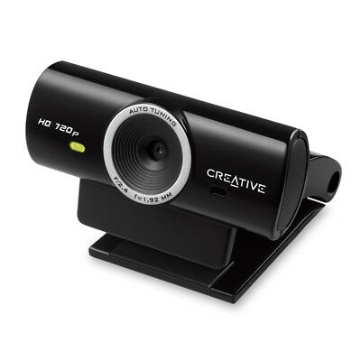 Creative Live! Cam HD Webcam 720p, 3.7MP, Noise Cancellation, Plug and Chat.