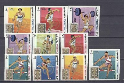 Olympiade 1972, Olympic Games - Fujeira - 320-329 B ** MNH