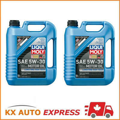 10L Liqui Moly Longtime High Tech SAE 5W-30 Fully Synthetic Engine Oil 2039