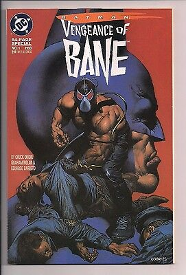 Batman: Vengeance of Bane Special #1 First Appearance of Bane (1993, DC)