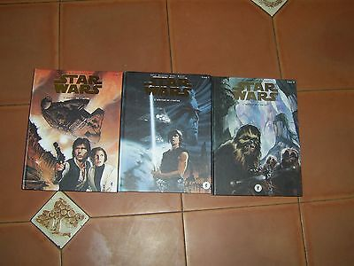 star wars l héritier de l empire  coffret  3 tomes frappée  or