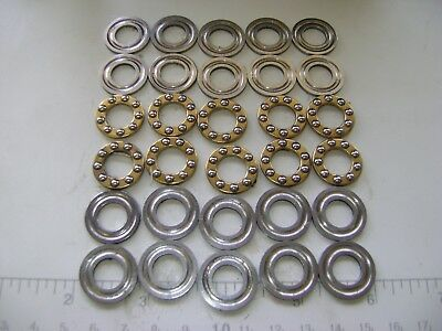 10 F10-20G(X) Thrust Ball Bearings 10x20x6.5 mm With Washers A227
