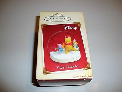 New Mib Hallmark 2005 Disney True Friends Winnie The Pooh Keepsake Ornament