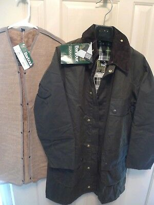 Barbour- A98 Solway Waxed Cotton Jacket & Liner- New Old Stock- Made @uk-Rare-38