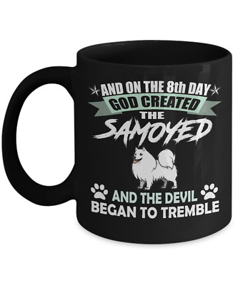 SAMOYED DOG  Mug