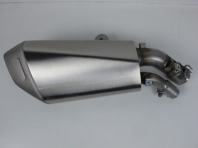 BMW K49 S1000XR S 1000 XR 2016 genuine rear muffler exhaust end can