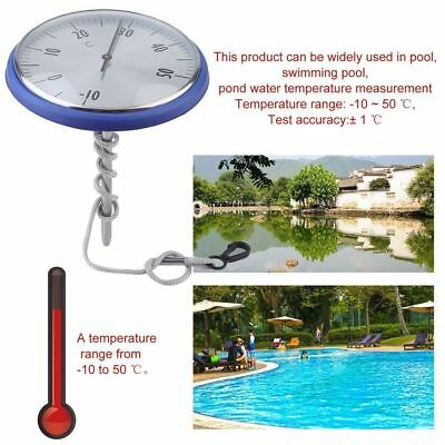Poolthermometer Tfa 40.2005.13 Blau Wasserthermometer Schwimmbadthermometer Es