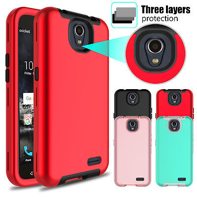 For ZTE Maven Overture 3 Prestige 2 N9136 Z835 Case Hybrid Shockproof TPU Cover