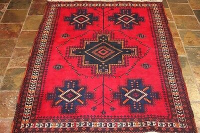 Authentic Persian rugs Gorgeous 198x152 excellent quality tribal persian rug