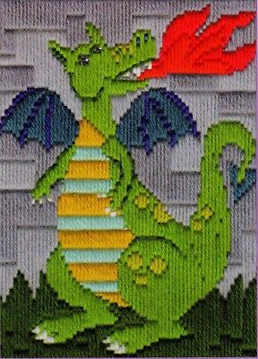 Dragon Long Stitch Kit (Beginners)