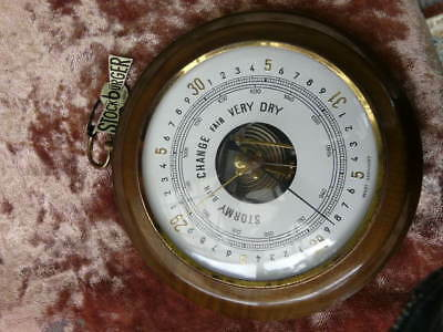 Vintage Retro Stockourger Quality Barometer West Germany