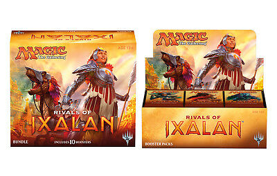 Rivals of Ixalan Booster Box & Bundle 46 packs Free EXPRESS Ship MTG