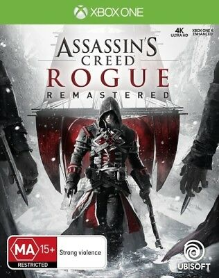 Assassins Creed Rogue Remastered XBOX ONE (PAL) New // Pre-Order!
