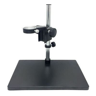 50 mm Ring Holder Video Microscope Adjustable Boom Large Stereo Arm Table Stand