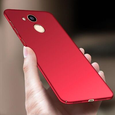 Luxury Shockproof Slim Matte PC Hard Back Case Cover For Huawei Phone Series