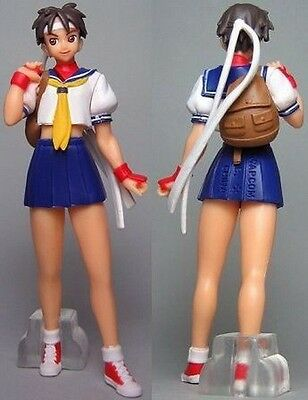 Bandai Street Fighter HGIF Capcom Gals Part 2 Gashapon Sexy Girl Figure Sakura