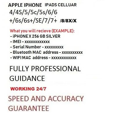 Bluetooth and WiFi Mac Address check: iPhone, iPad, I watch fast and Accurate