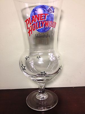 "Planet Hollywood ""Honolulu"" Hurricane Glass"