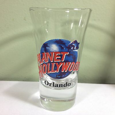 Planet Hollywood Orlando Tall Flared 2oz. Shot Glass