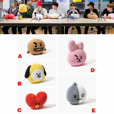 New Kpop BTS Plush Doll Toy Cute Bangtan Boy Bt21 Pillow Stuffed Doll Gift