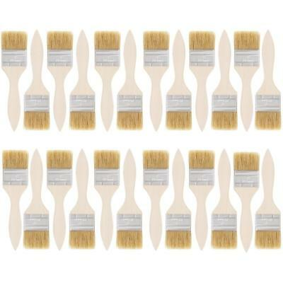 US Art Supply 24 Pack of 2 inch Paint and Chip Brushes for Paint, Stains,...
