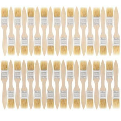 US Art Supply 36 Pack of 1 inch Paint and Chip Brushes for Paint, Stains,...