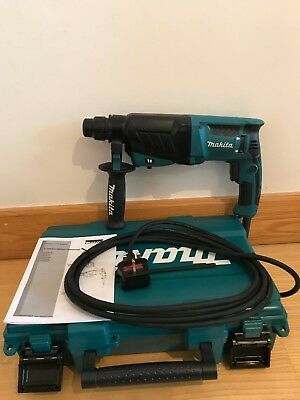 Makita HR2630 240v SDS Plus 3 Mode Rotary Hammer Drill Carry Case 800W