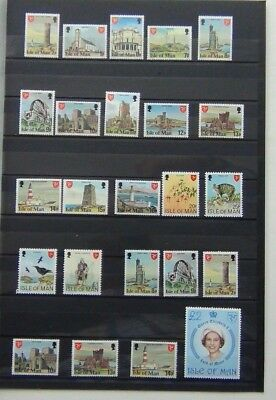 Isle of Man 1978 set complete to £2 MNH