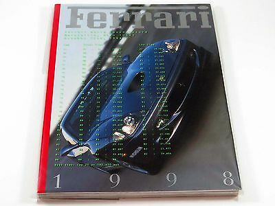 Official Ferrari Factory Yearbook Annual Book Brochure 1998 MINT