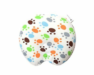 Baby Memory Foam Pillow U-Shaped Prevents Flat Head Syndrome Support Head Nec...