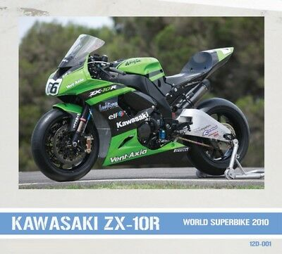 Decal: 1/12 Pw 2010 Kawasaki Zx-10R World Superbike #5/66/77