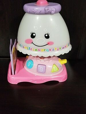 Fisher Price Laugh And Learn My Pretty Reading Lamp W/ Book Toddler Baby  Musical