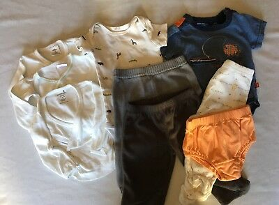 Nice Lot Of Baby Clothes Size 6 Months 9 Items