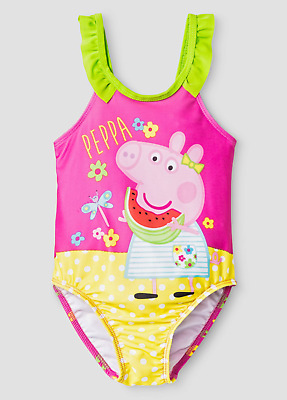 Peppa Pig Girl's Swimsuit Bathing Suit NWT Size 4T Nickelodeon