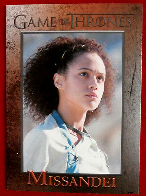 GAME OF THRONES - Season 4 - Card #73 - MISSANDEI - Rittenhouse 2015