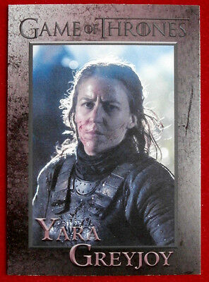 GAME OF THRONES - Season 4 - Card #47 - YARA GREYJOY - Rittenhouse 2015